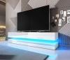 Televizní (tv) stolek Fly s LED osvětlením