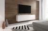 Televizní (tv) stolek Slant 160 s LED osvětlením