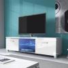 Televizní (tv) stolek Hugo 2 + LED osvětlení