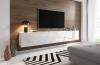 Televizní (tv) stolek Slant 240 s LED osvětlením