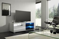 Televizní (tv) stolek Moon s LED osvětlením