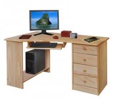 PC psací stůl rohový 8846