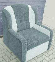 Rozkládací křeslo Komfort šedé