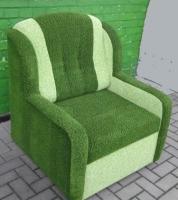 Rozkládací křeslo Komfort zelené